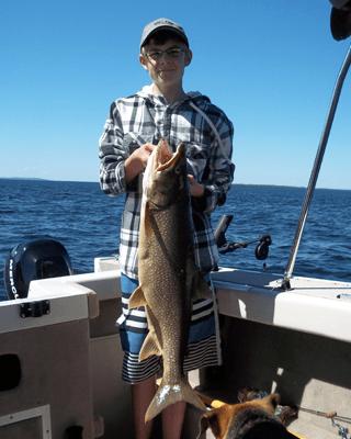 Lake Nipigon Guides for big Lake Trout