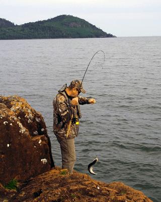 Nipigon Guides - even when your on shore